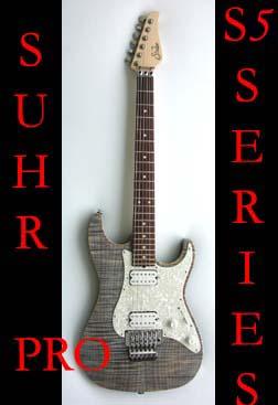 John Suhr custom Guitars                                 Pro Series