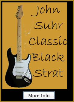 "John Suhr Guitar Classic                                   Strat, Alder, Color ""Black"""