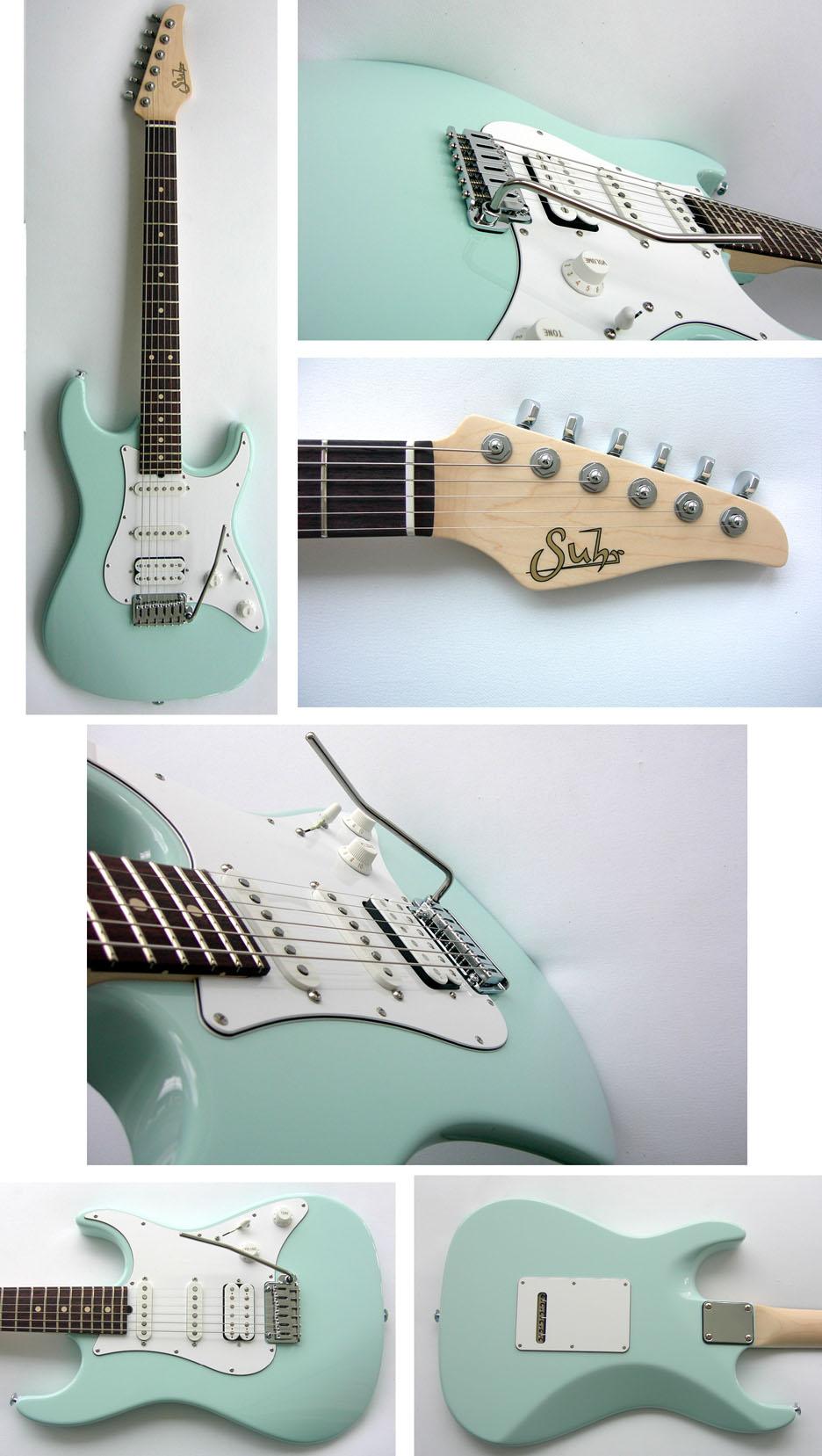 Suhr Standard Pro Series S1 SONIC BLUE