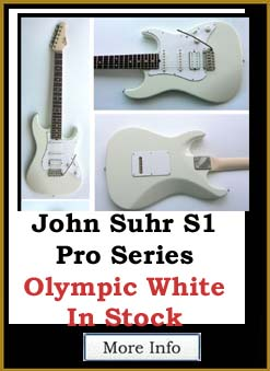 Suhr Standard Pro Series S1 Olympic White